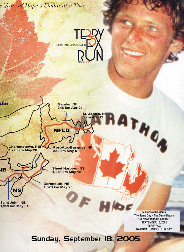 terry fox essay conclusions Free terry fox papers, essays, and research papers  with the crew-cut  conformity of 1950s cold war culture and ending with the transition into the  uneasy '70s,.